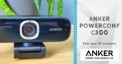 Test Anker PowerConf C300 : une Webcam taillée pour le télétravail