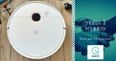 Test Yeedi 2 Hybrid, un aspirateur robot 2-en-1