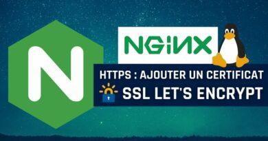 Nginx : ajouter un certificat SSL Let's Encrypt pour passer en HTTPS