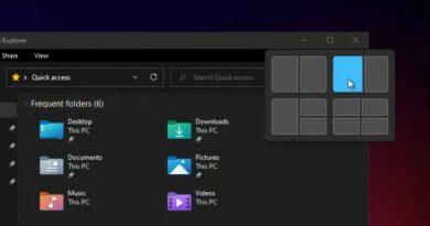 Windows 11 propose une nouvelle manière d'organiser les fenêtres