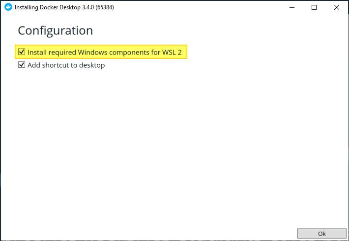 Docker WSL 2