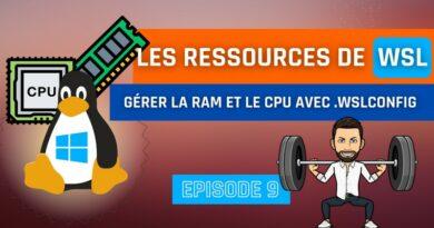 WSL 2 : gérer les ressources allouées à Linux avec .wslconfig