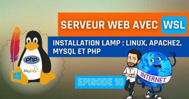 Installer un serveur Web LAMP (Apache, MySQL, PHP) sur WSL 2