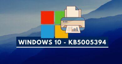 Windows 10 – KB5005394 : une nouvelle màj pour les problèmes d'impression
