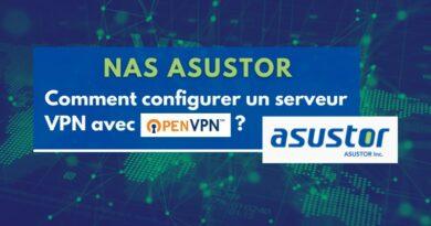 NAS ASUSTOR : comment configurer un serveur VPN avec OpenVPN ?