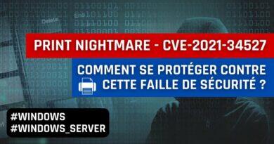 Windows : comment se protéger de la vulnérabilité PrintNightmare ?