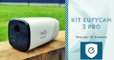 Test eufyCam 2 Pro : un kit avec deux caméras 2K et 365 jours d'autonomie
