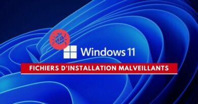Windows 11 : des fichiers d'installation malveillants circulent sur Internet !