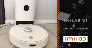 Test IMILAB V1 : le premier aspirateur robot de cette filiale de Xiaomi