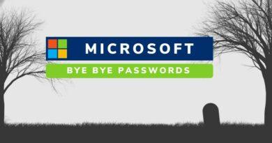 L'authentification sans mot de passe disponible sur les services Microsoft !