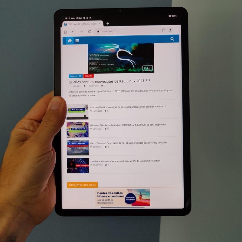 Test Xiaomi Mi Pad 5