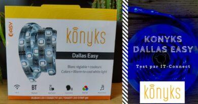 Test Konyks Dallas Easy : un bandeau LED de 3 mètres au prix attractif
