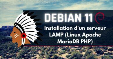 Installer un serveur LAMP (Linux Apache MariaDB PHP) sous Debian 11