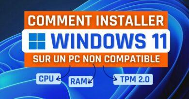 Comment installer Windows 11 sur un PC non compatible ?