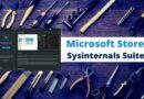 La suite d'outils Sysinternals peut se mettre à jour via le Microsoft Store