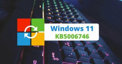 KB5006746 : une màj qui corrige les problèmes de performance sous Windows 11